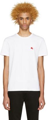 Burberry Brit White Tunworth T-Shirt $105 thestylecure.com