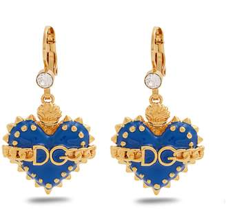 Dolce & Gabbana Heart-drop earrings