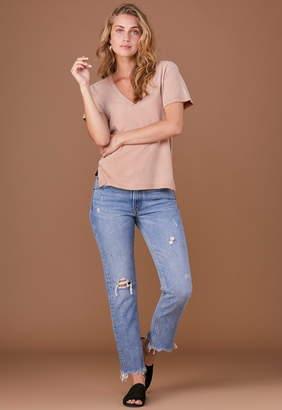 LnA Essential Cotton Reese V Neck