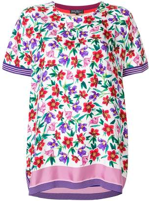 Salvatore Ferragamo floral printed T-shirt