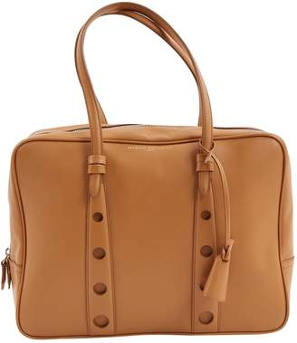 Myriam Schaefer Camel Leather Handbags