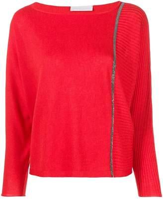 Fabiana Filippi ribbed detail sweater