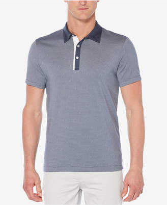 Perry Ellis Men's Thin-Striped Polo