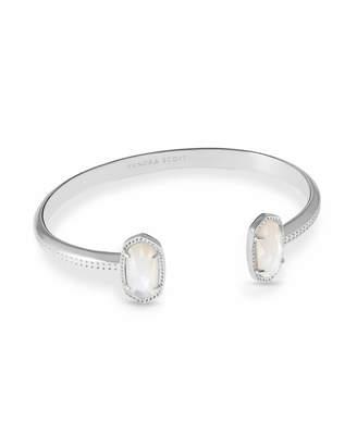 Kendra Scott Elton Pinch Cuff Bracelet in Silver