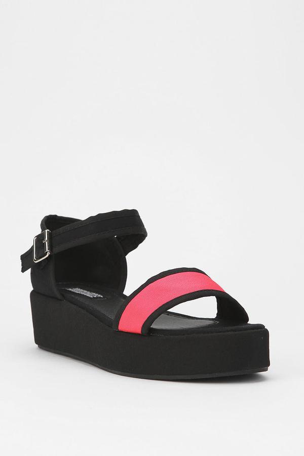 Deena & Ozzy Reflector Flatform Sandal
