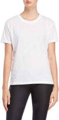 The Kooples Sport White Crew Neck Tee