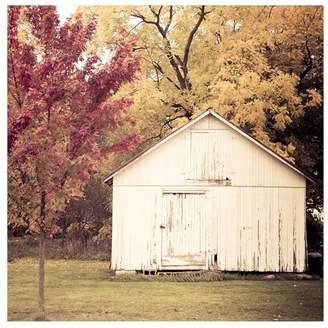 Pottery Barn Autumn Color Framed Print by Cindy Taylor