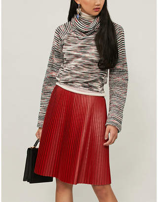 Missoni Textured knitted turtleneck jumper