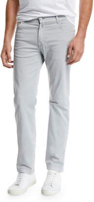 Kiton Men's Stone-Wash 5-Pocket Jeans