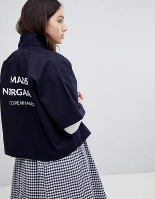Mads Norgaard Cropped Workman Jacket
