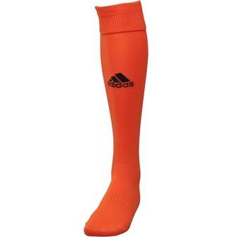 adidas Santos 3 Stripe Football Socks Orange/Black