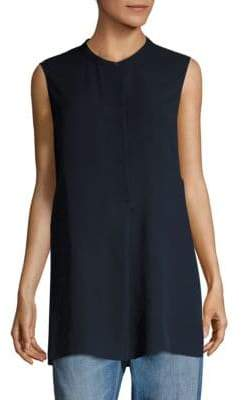 Vince Silk Roundneck Tunic