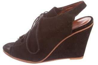 Rachel Comey Suede Round-Toe Sandals