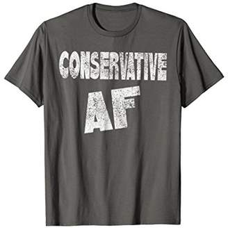 Abercrombie & Fitch Retro Conservative Funny T-Shirt