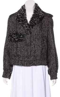 Chanel Fringed Bouclé Jacket