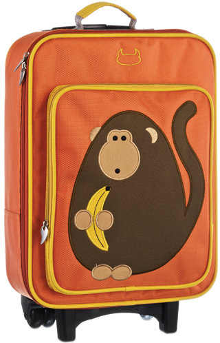 Dieter the Monkey Wheelie Bag