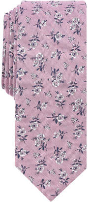 Bar III Men's Kimball Floral Skinny Tie, Created for Macy's