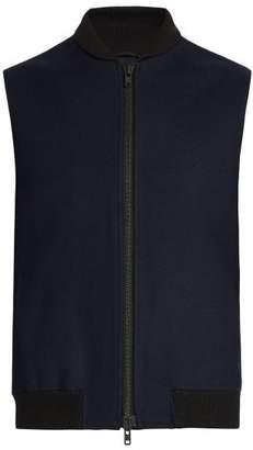 Oliver Spencer Moorland Wool Gilet - Mens - Navy