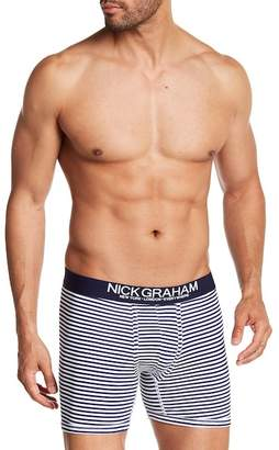 Nick Graham Fashion Basics Stripe Boxer Brief