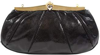 Judith Leiber Patent Leather Clutch Bag