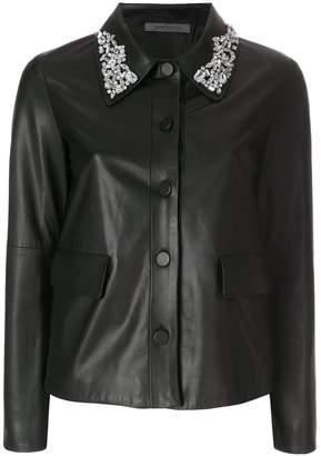 Simonetta Ravizza Sara embellished collar jacket
