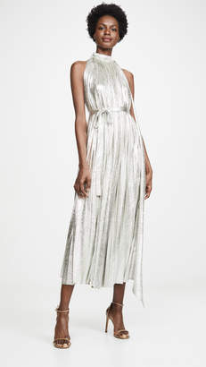 A.W.A.K.E. Mode Oyster Metallic Dress