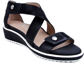 Bettye Muller Concept Tobi Leather Wedge Sandal