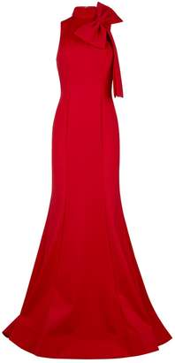 Jovani Bow Neck Gown