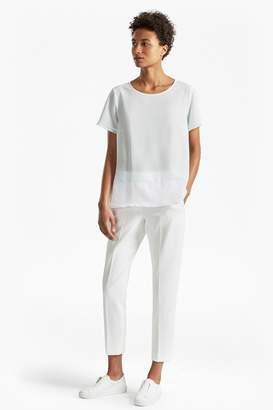 French Connenction Crepe Light Colour Block T-Shirt