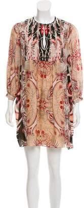 Rachel Zoe Silk Printed Dress w/ Tags