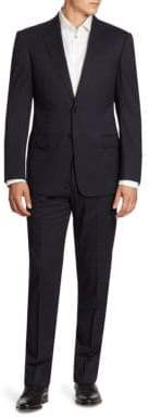 Armani Collezioni Two-Button Virgin Wool Suit