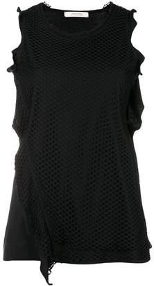Schumacher Dorothee mesh sleeveless blouse
