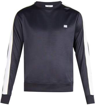 Ami Bi-colour crew-neck sweatshirt