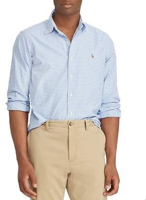 Polo Ralph Lauren Gingham Oxford Classic Fit Button-Down Shirt