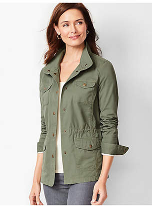 Talbots Casual Drawcord Jacket - Cotton
