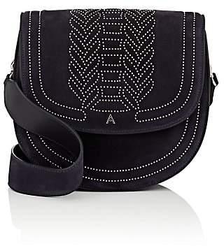 Altuzarra Women's Ghianda Medium Suede Saddle Bag