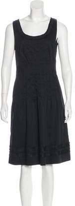 Tory Burch Sleeveless Knee-Length Dress