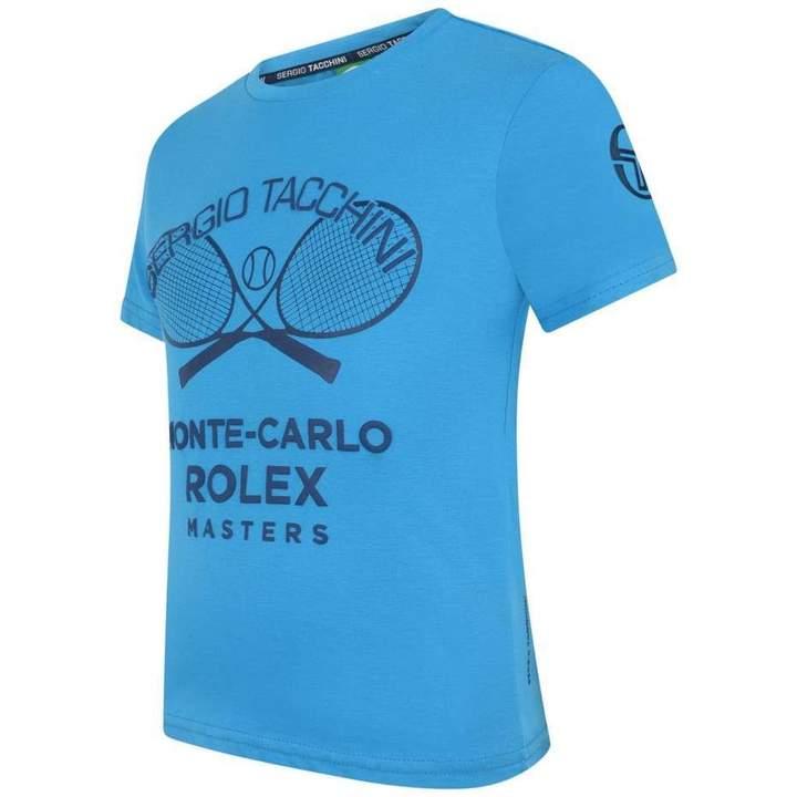 Sergio TacchiniTurquoise Monte Carlo Rolex Masters Top