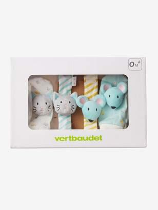 Vertbaudet Baby Activity Toys, Cat-Mouse Bracelets & Slippers