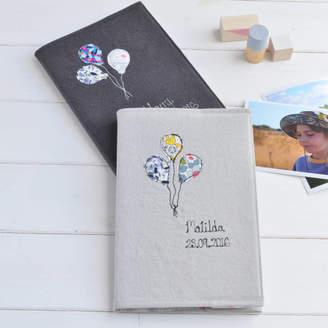 Handmade at Poshyarns Personalised New Baby Memory Book