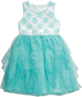 Young Land Sleeveless Party Dress - Toddler Girls $58 thestylecure.com