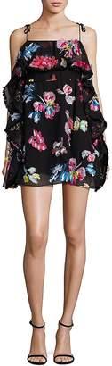 Tanya Taylor Women's Tassle Georgette Gabriella Dress