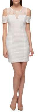 Guess Cold Shoulder Bodycon Dress