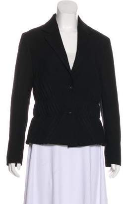 Issey Miyake Fete Wool Pleated Blazer
