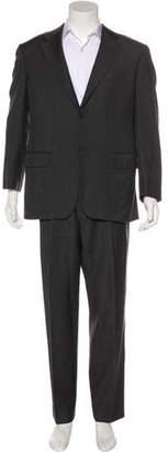 Salvatore Ferragamo Two-Button Wool Suit