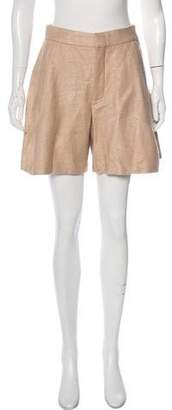 Chloé High-Rise Knee-Length Shorts