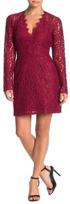 WAYF Say It Loud Lace Mini Dress