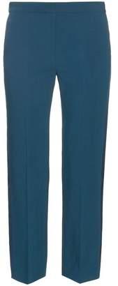 Roksanda - Welles Cady Tuxedo Trousers - Womens - Navy