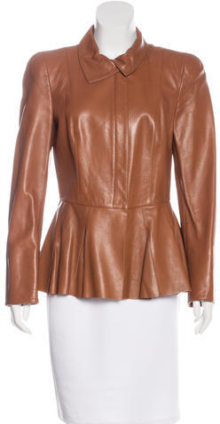 Salvatore FerragamoSalvatore Ferragamo Structured Leather Jacket