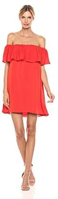French Connection Women's Summer Crepe Light Ots Dress,XS